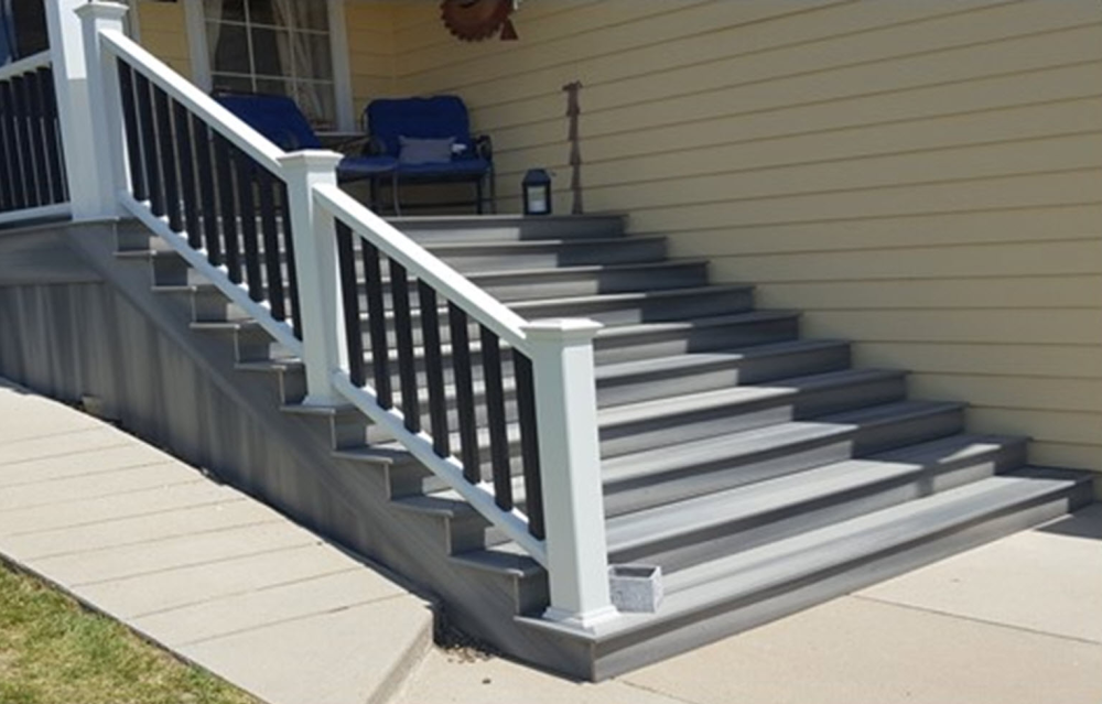 Front Porch with Stairs After- Broomfield CO