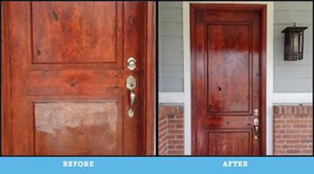 Door Installation and Staining Denver