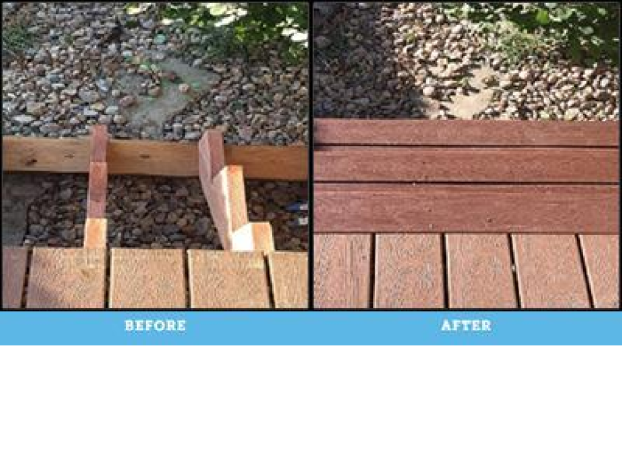 Replace deck stairs Denver