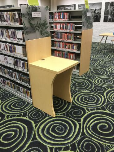 Custom Desks at the Howard County Public Library - Columbia, MD