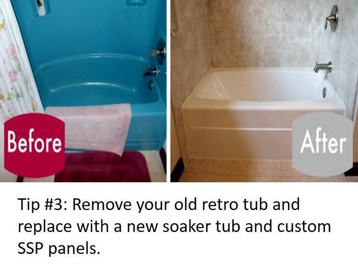 Bathroom Update Tip #3