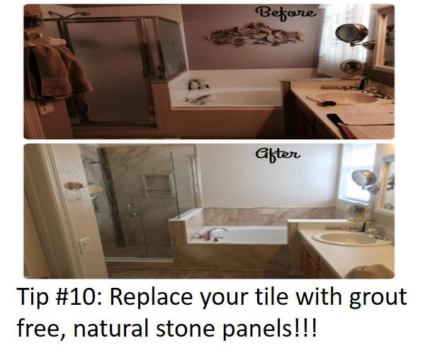 Bathroom Update Tip #10
