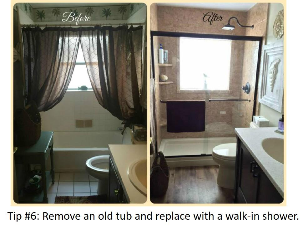 Bathroom Update Tip #6