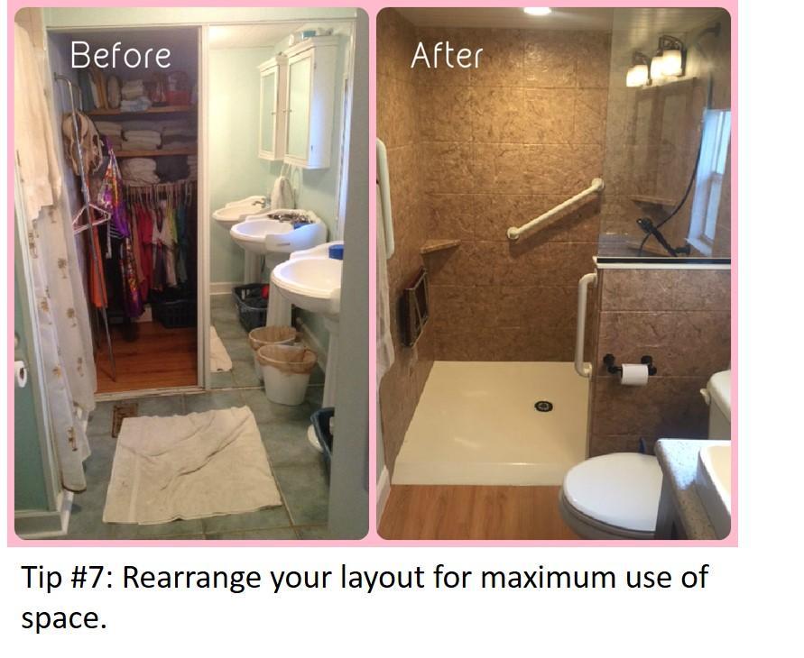 Bathroom Update Tip #7
