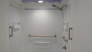 Shower remodel in Washington, PA