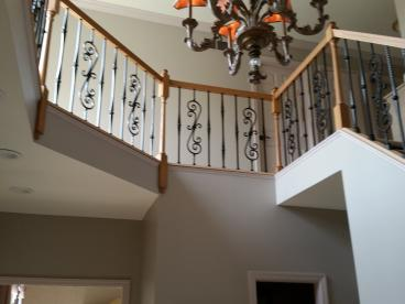 Handrail installation in Bridgeville, PA   (another view)