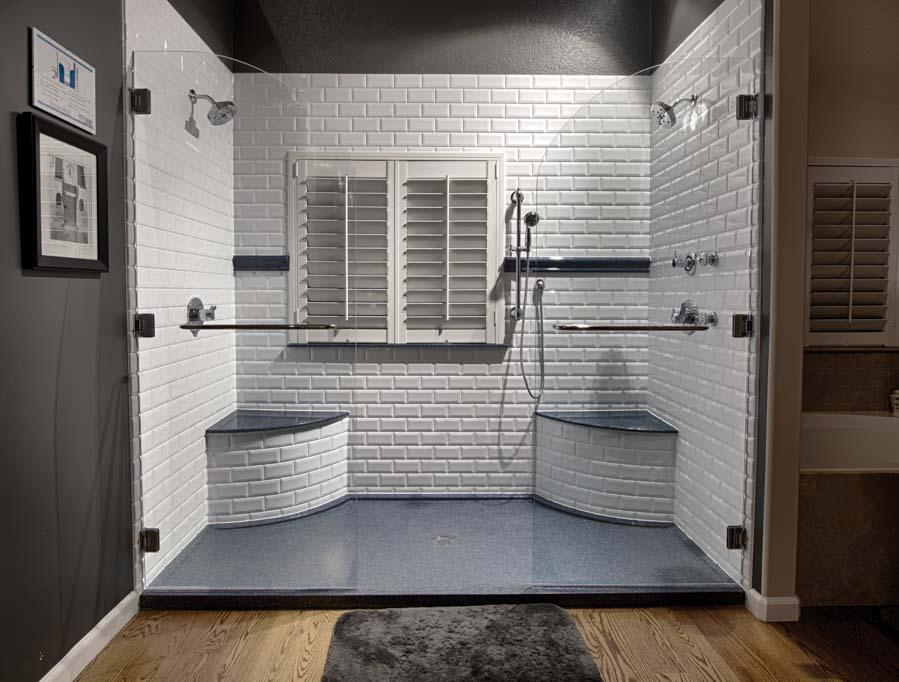 Get the look of subway tile without the grout! Go grout free!