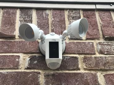 Ring Floodlight Camera Install