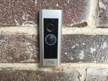 Ring Pro Doorbell Install