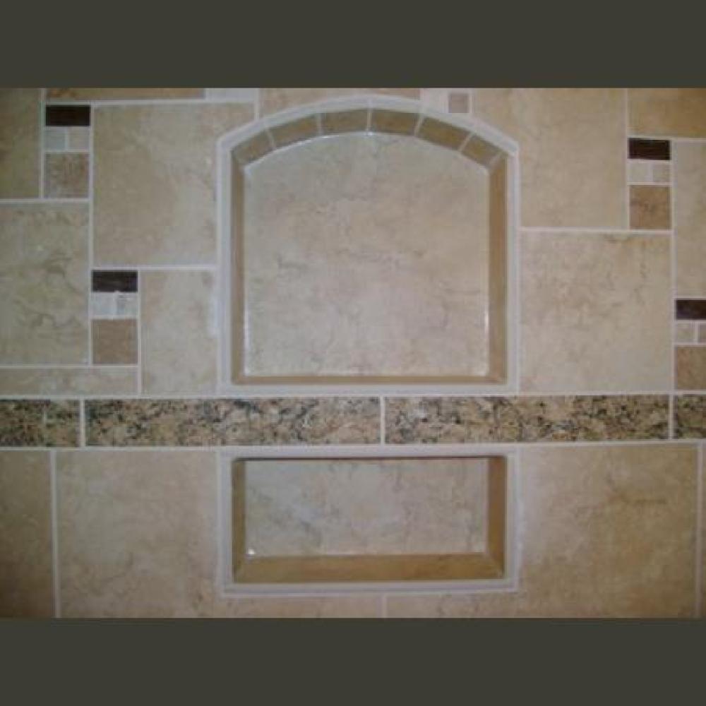 Shower Tile, Black Forest, Colorado