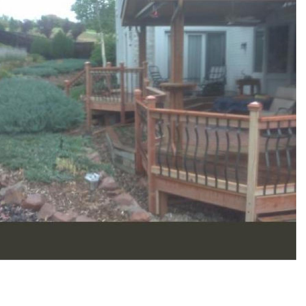 Deck and Handrails, Colorado Springs, Colorado
