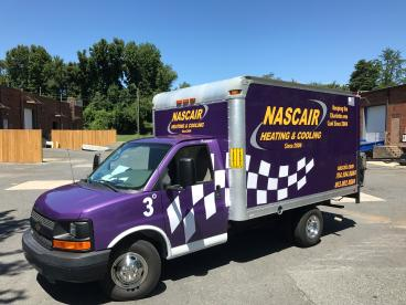 Box Truck Wrap for Nascair Heating and Air
