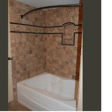 Bathroom shower/tub tile replacement in Highlands Ranch, Colorado
