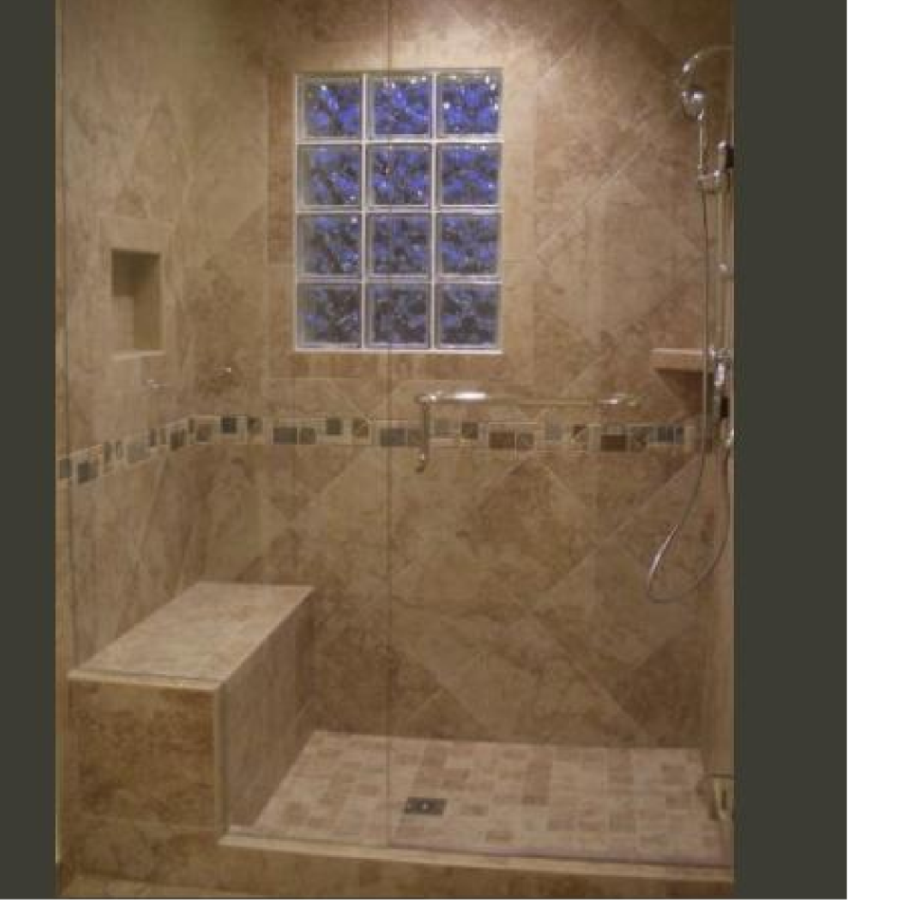 Whole Shower Remodel, Parker, Colorado