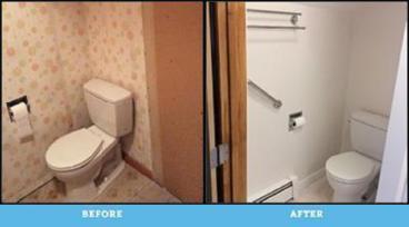Total Bathroom Remodel in Plains