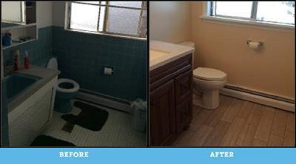 Total Bathroom Remodel in Swoyersville