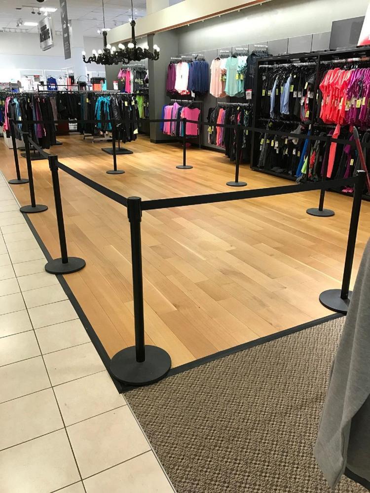 Hardwood Laminate Flooring Installation at Wyoming Valley Mall