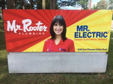 Outdoor Signage - Mr. Rooter/Mr. Electric of Ohio