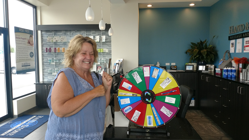 Member Appreciation Wheel Winner