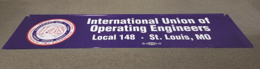 Parade Banner with Side Pockets