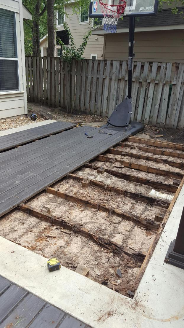 Deck Repair - Spring, TX