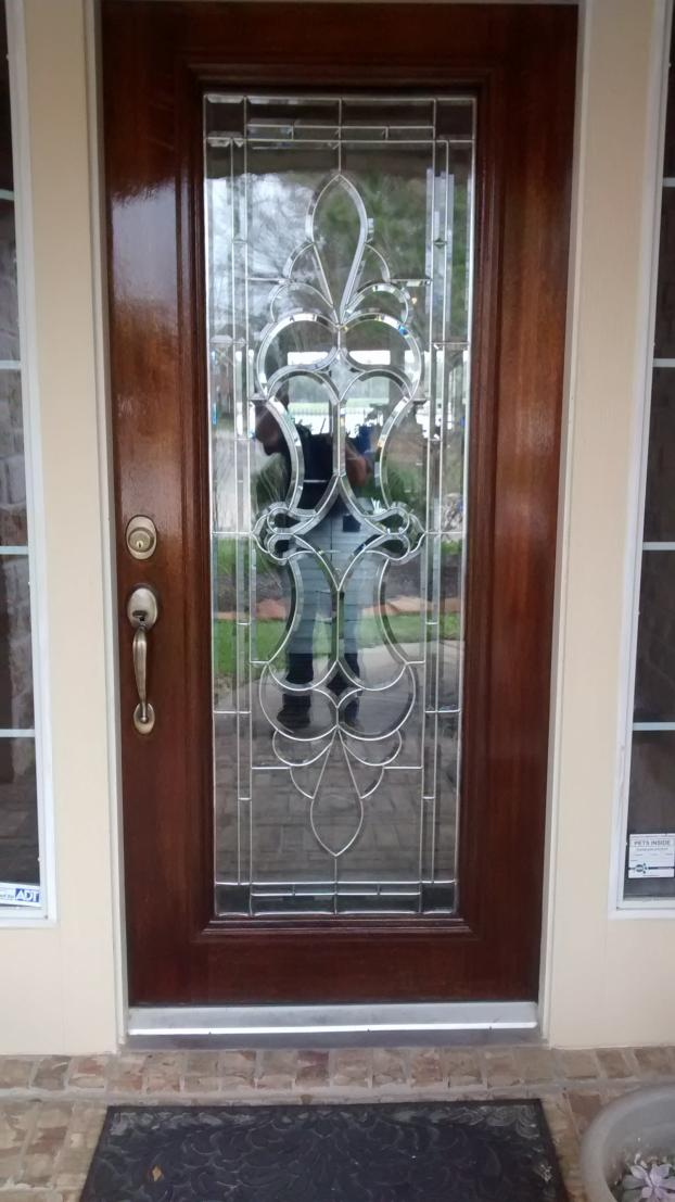 Refinish Front Entry Door - Spring, TX
