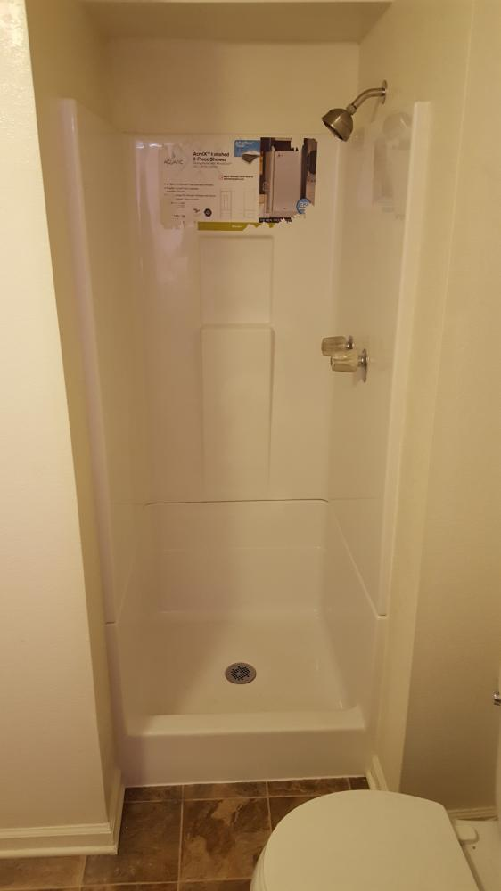 Shower Remodel After- Denver,CO
