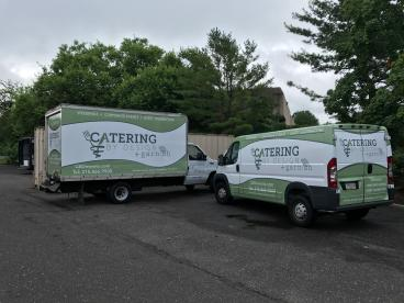 Fleet Wraps | Catering by Design | South Jersey | SpeedPro Imaging