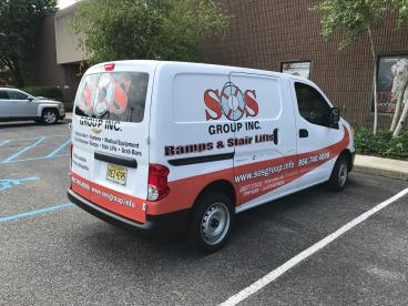Service Vehicle Decals | SOS Group | South Jersey |SpeedPro Imaging