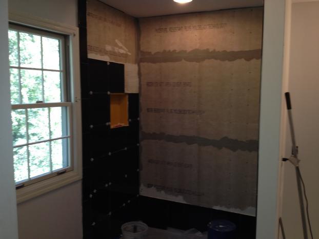 During  Photo of Bathroom Remodel in Venetia, PA #1