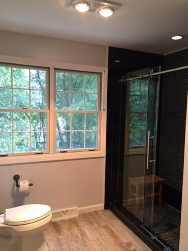 After photo of bathroom remodel in Washington, PA