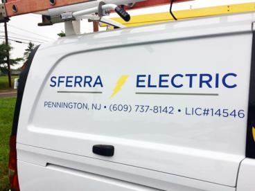 Sferra Electric Vehicle Graphics Pennington NJ