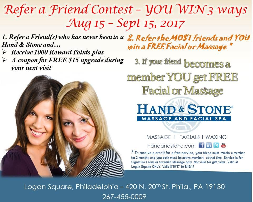 Refer a Friend Contest!