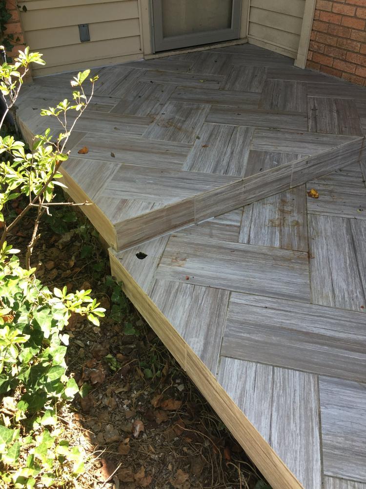 exterior patio tile