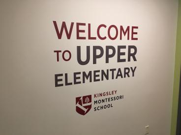 Kingsley Montessori School Wall Graphics