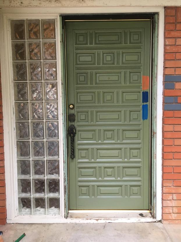 Before picture: is it time to update your front door?