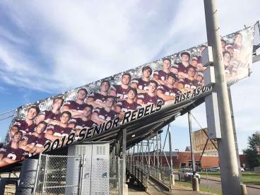Franklin High School Stadium Banner...Go Rebels
