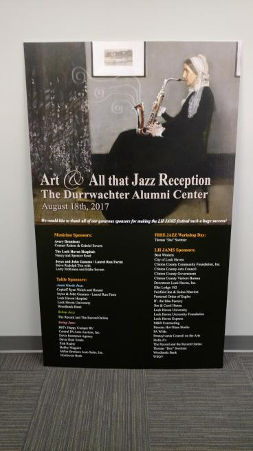 Jazz Festival Reception