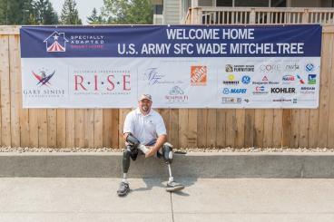 Banners for The Gary Sinise Foundation