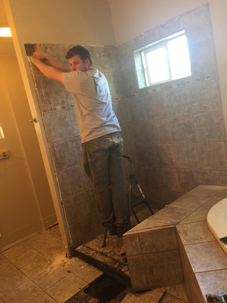 Cherry Creek Bathroom Remodel In Progress