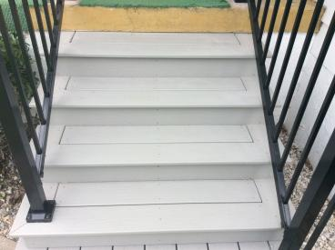 Composite Decking Steps in Larksville