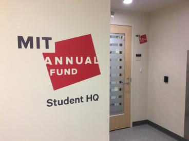 MIT Annual Fund Wall Graphics