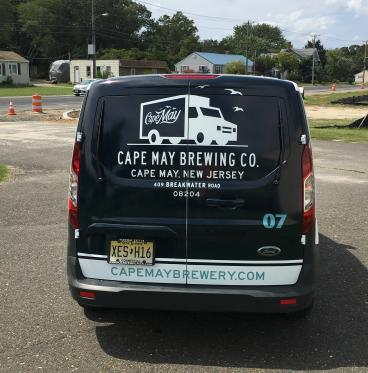Cape May Brewing Co. 2017 Ford Transit Connect