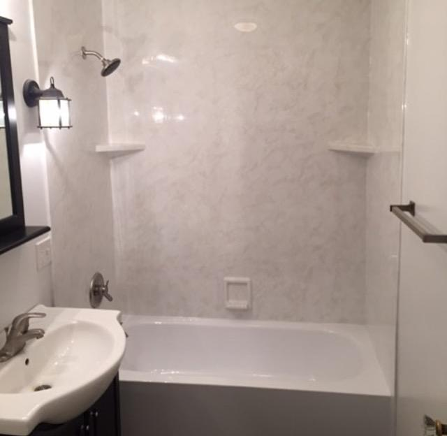 New Re-Bath bathtub and walls