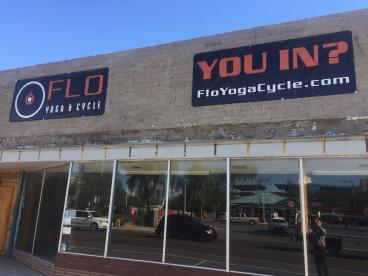 FLO Yoga & Cycle Banners
