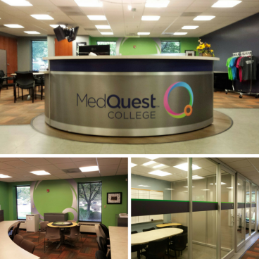 Desk & Wall Wrap - MedQuest College
