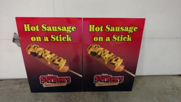 Snyder's Concessions Signs
