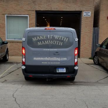 Vehicle Wrap for Mammoth Distillery