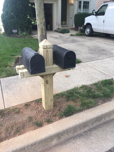 Custom Mailbox per HOA Requirements - Owings Mills, MD