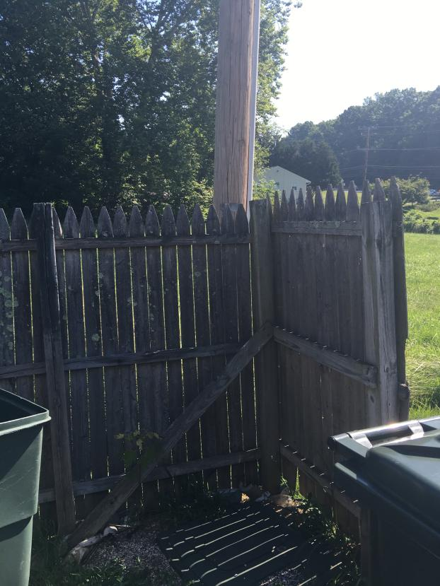 Replaced Privacy Fence with Custom Gate - Sykesville, MD